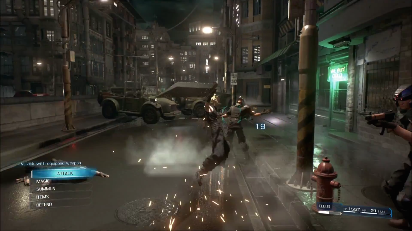 Fighting-Gameplay-FFVII-Remake-Screenshot