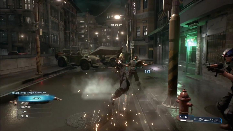 Fighting-Gameplay-FFVII-Remake-Screenshot